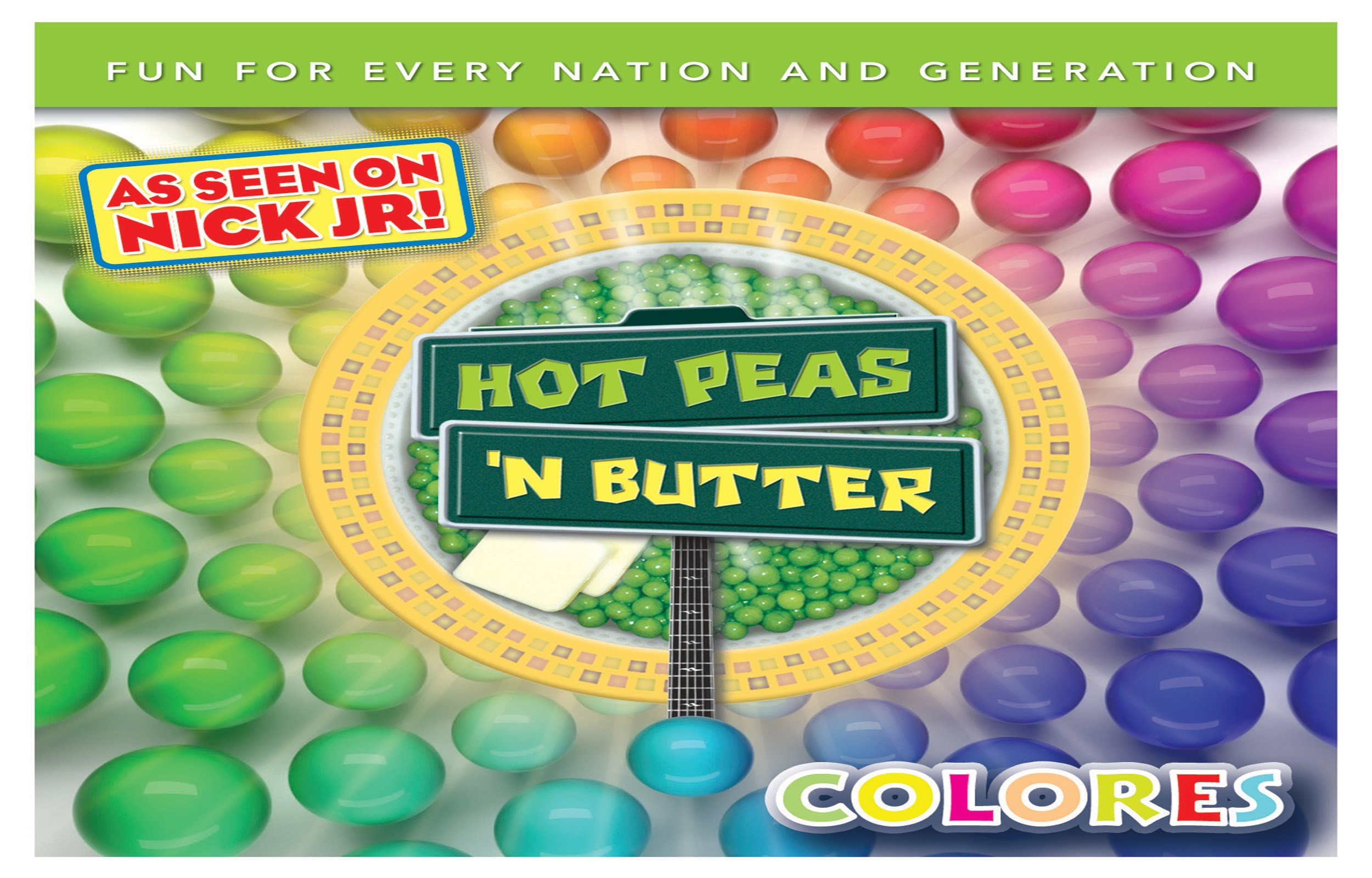 Colores | Hot Peas 'N Butter