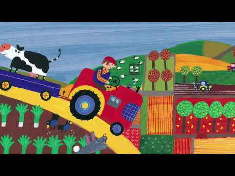 Driving My Tractor   Barefoot Books