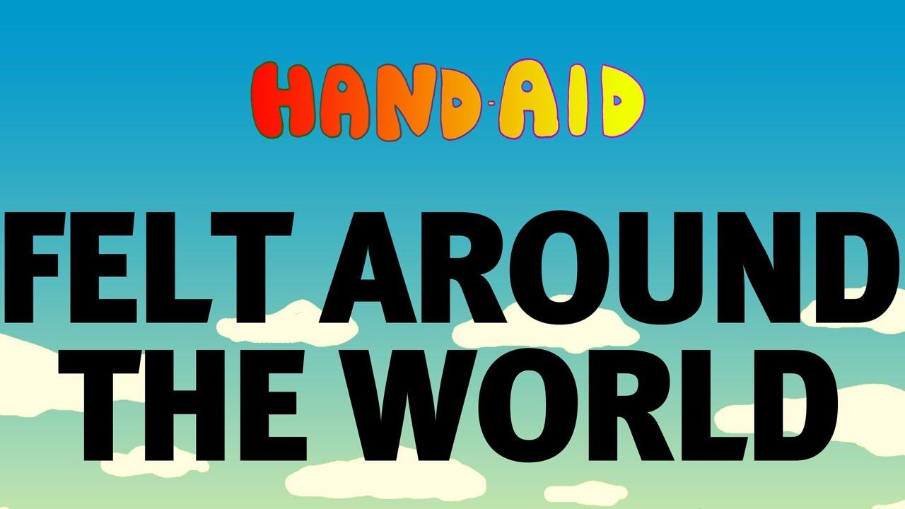 Felt Around The World   Hand Aid