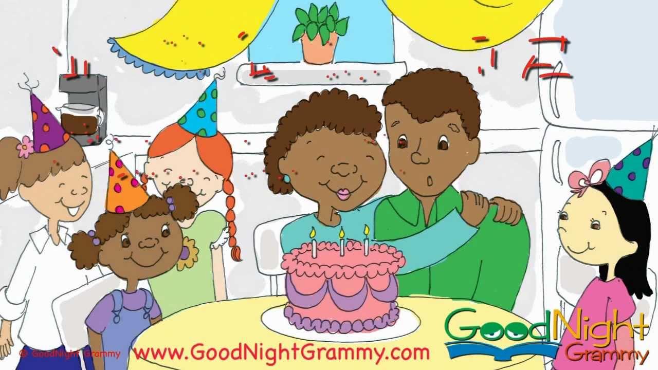 The Birthday Surprise | GoodNight Grammy