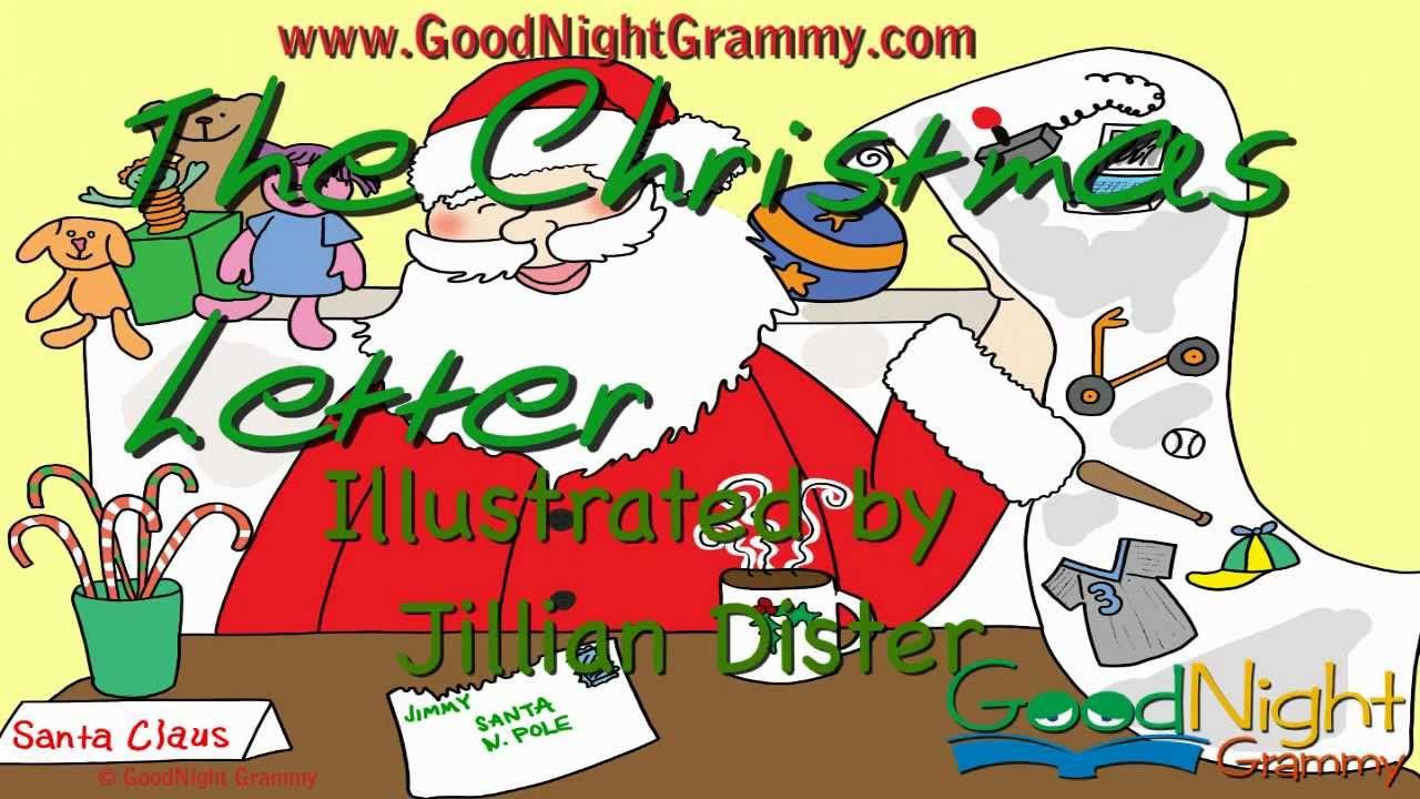 The Christmas Letter | GoodNight Grammy