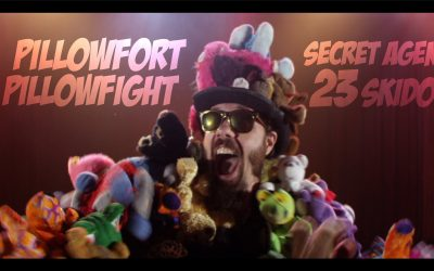 Pillow Fort Pillow Fight | Secret Agent 23 Skidoo