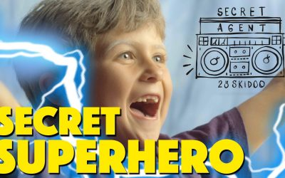 Secret Superhero | Secret Agent 23 Skidoo